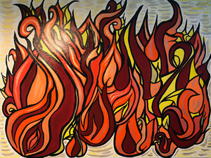 Flames Painting