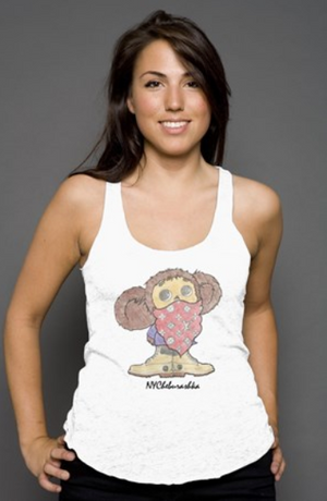 NYCheburashka© Women's Racerback Tank Top