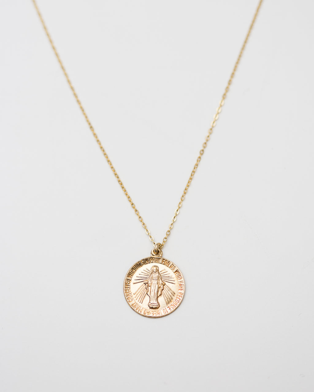 Round Religious Necklace