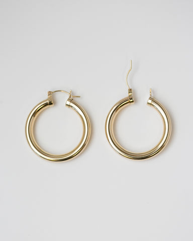 Unbalanced Halo Earrings
