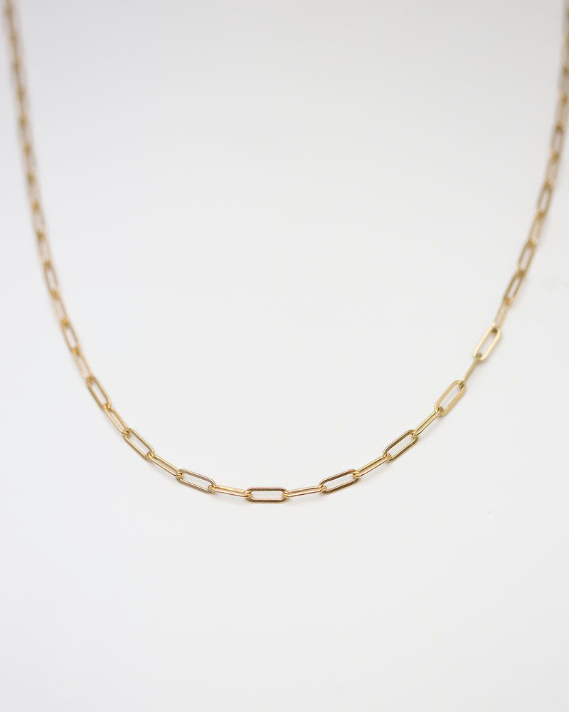 Chunk Box Chain Necklace