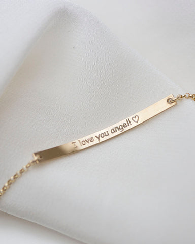 14K Name Necklace