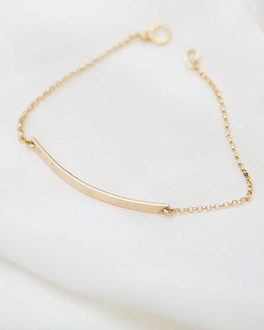 Mini Skinny Name Bracelet