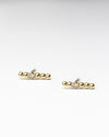 14k Diamond Cross Earrings