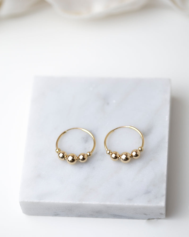 Five Dot Earrings