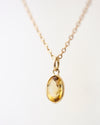 14k Gemstone Necklace