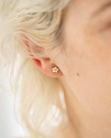 Bar Ear Thread Earrings