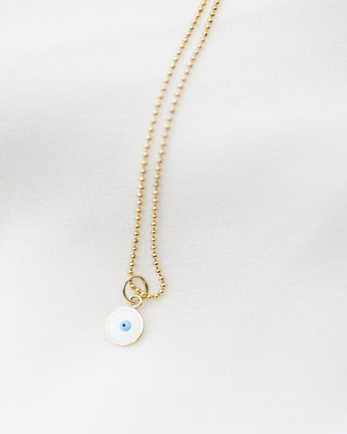 14K Virgin Mary Necklace