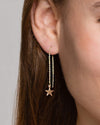 Star Thread Earrings