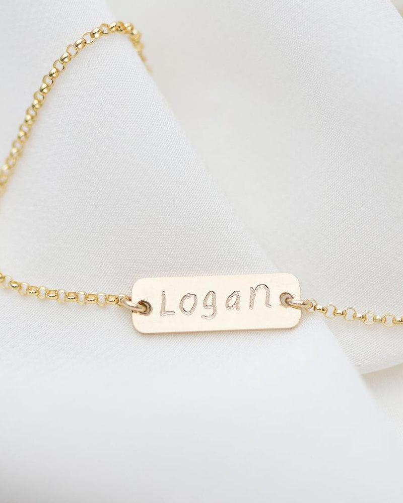 Mini Handwriting Bracelet