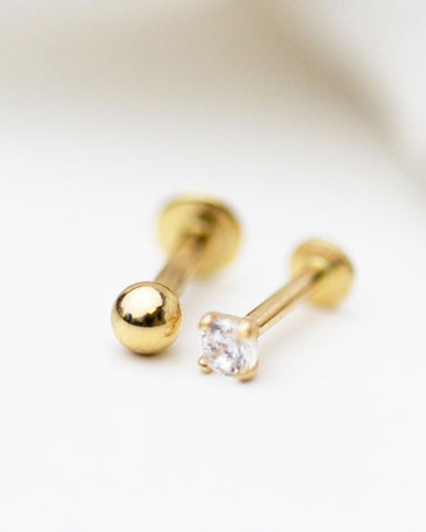 Shinny Chain Stud Earrings