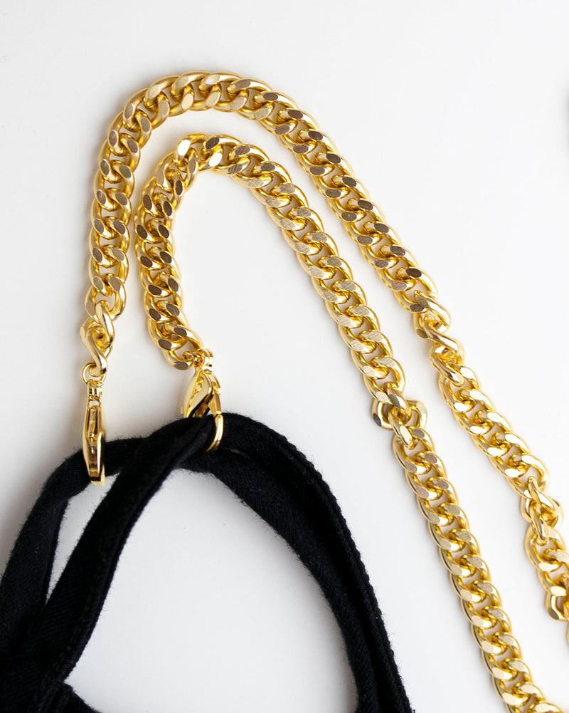 Cuban Link Mask Chain Holder