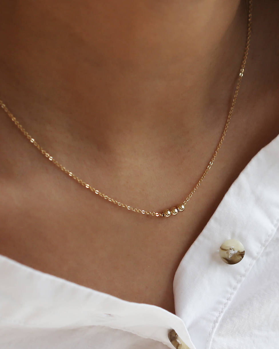 Tiny Dot Necklace