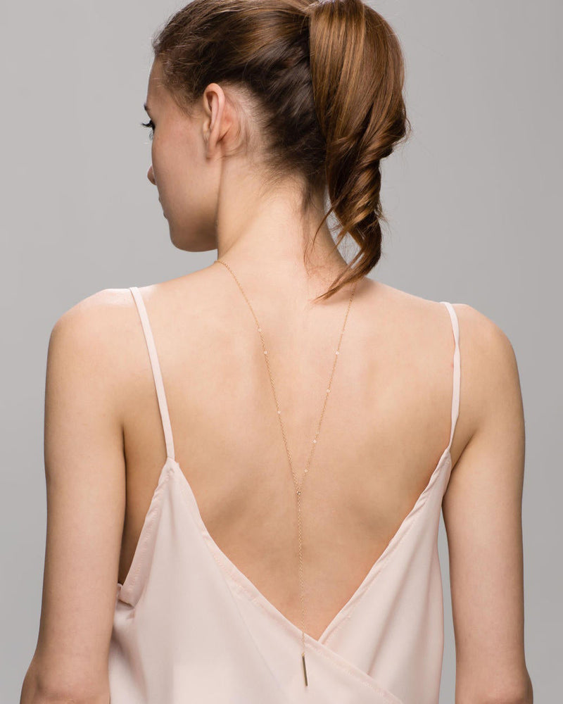 Simple Back Necklace