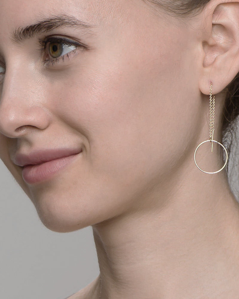 Halo Thread Earrings