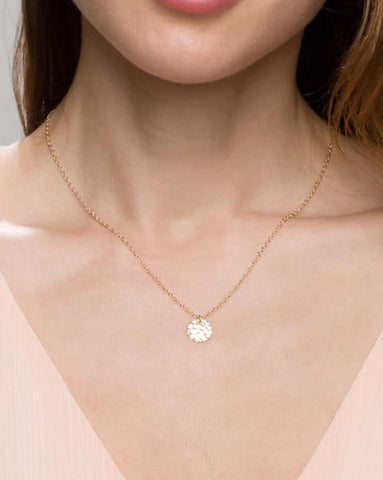 Super Dainty Wrap Necklace