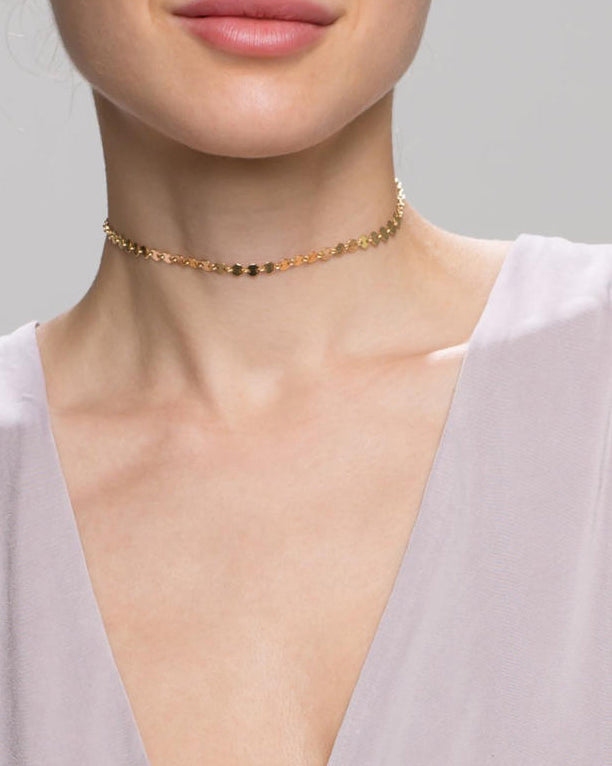 Coin Disc Choker