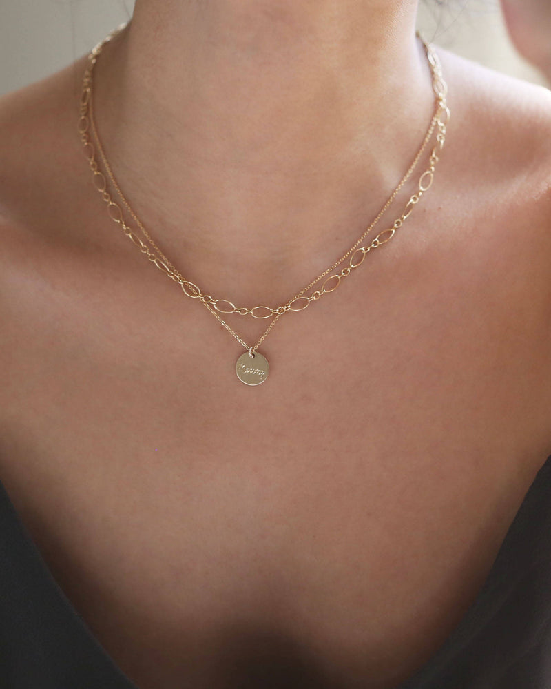 L&S Halo Chain Necklace