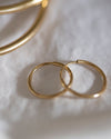 14K Mini Endless Hoop Earrings