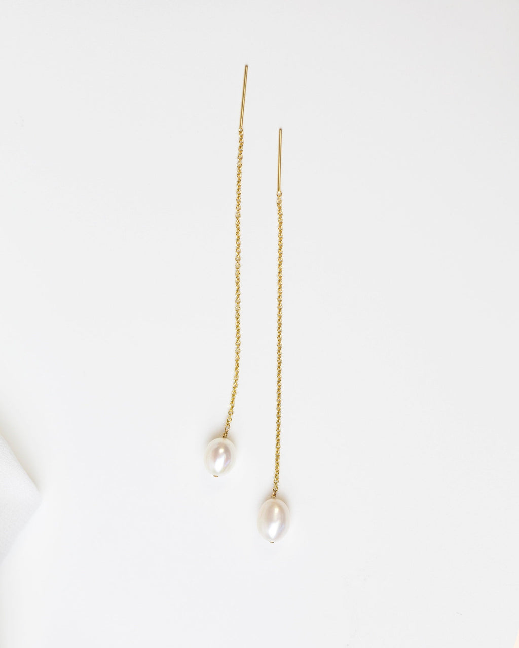 14k Freshwater Pearl Threaders