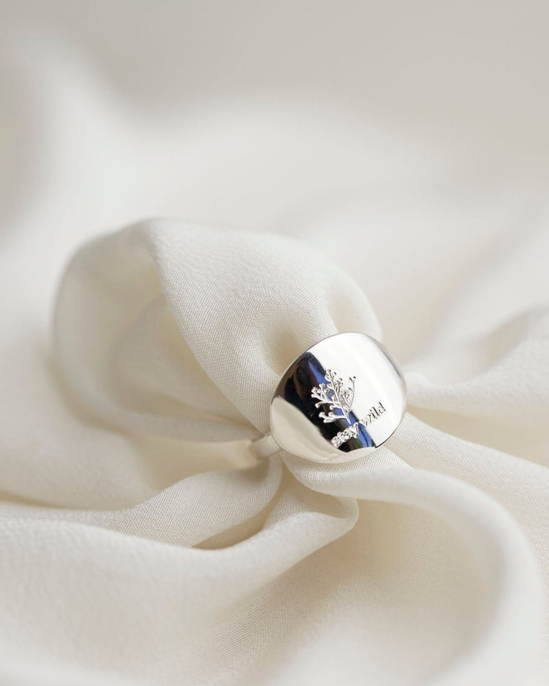 Wild Flower Stay Wild Ring