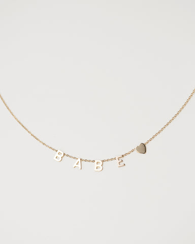 14K Satellite Necklace