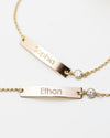 Name Plate Bracelet with Custom Engraving