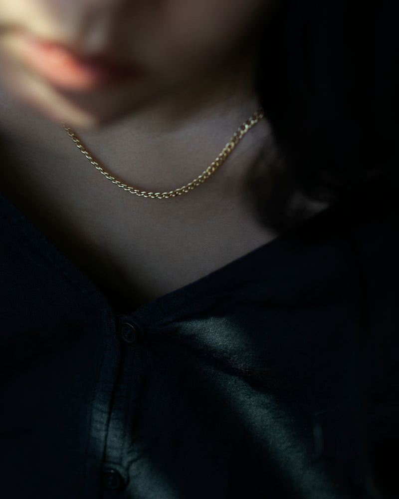 Curb Chain Necklace II