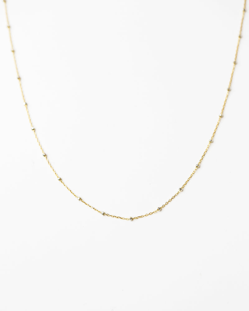 Two Tone Satellite Necklace