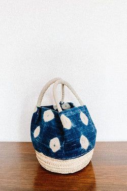 Bag - Handbag - One Of A Kind - White Dots
