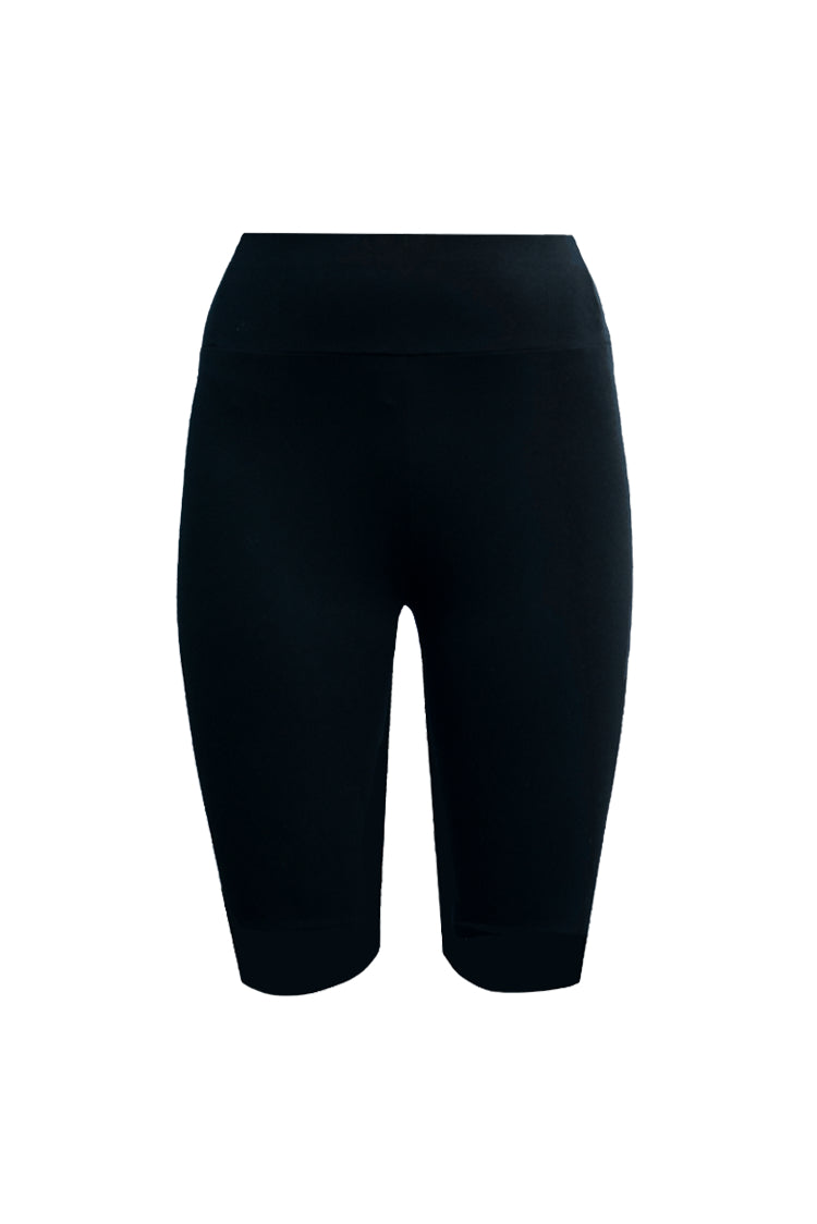 Leggings - Shorts Organic Jersey - Black