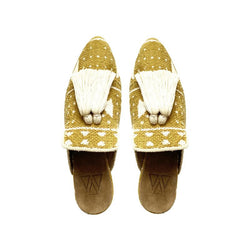 Shoes - Slippers - Mustard Yellow Mali