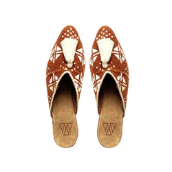 Shoes - Mules - Brown Mali