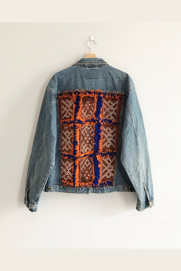 Jeans Jackets - 1.11. Vintage Upcycled Jeans Jacket - One Of A Kind