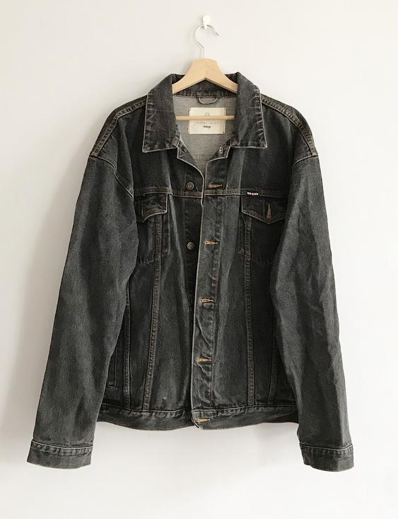 Jeans Jackets - 1.4. Vintage Upcycled Jeans Jacket - One Of A Kind