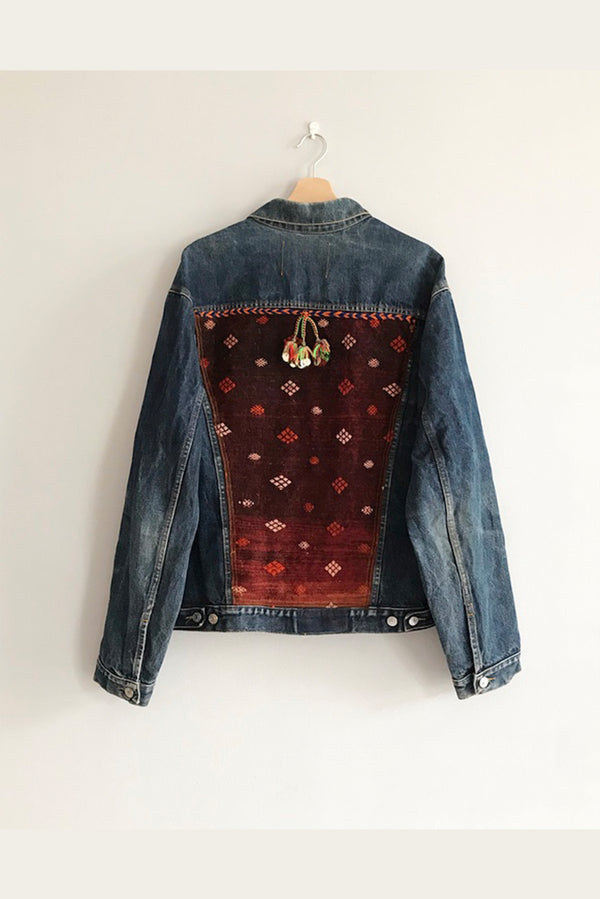 Jeans Jackets - 1.6. Vintage Upcycled Jeans Jacket - One Of A Kind