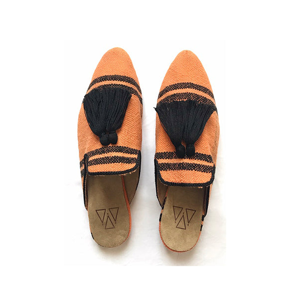 Shoes - Slippers - Orange Mandarine