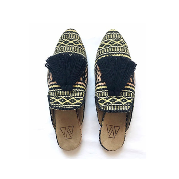 Shoes - Slippers - Boho Black