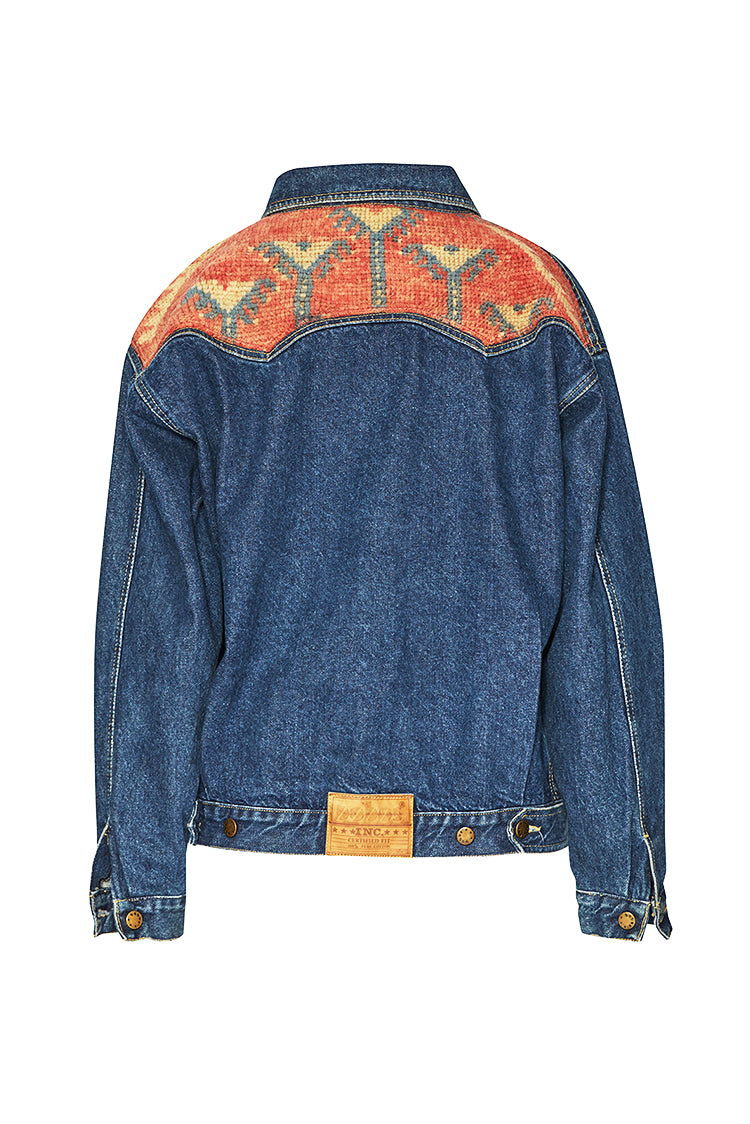 Jeans Jackets - #3 Upcycled Jeans Jacket - Marrakech Edition