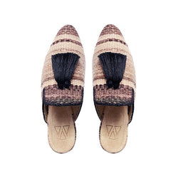 Shoes - Slippers - Beige Chestnut