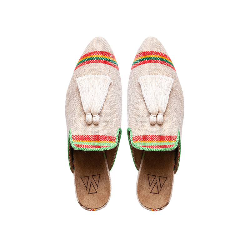 Shoes - Slippers - Beige Sandy