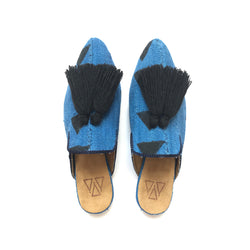 Shoes - Slippers - Blue Mali