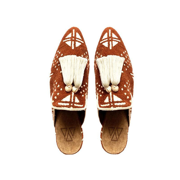 Shoes - Slippers - Brown Mali