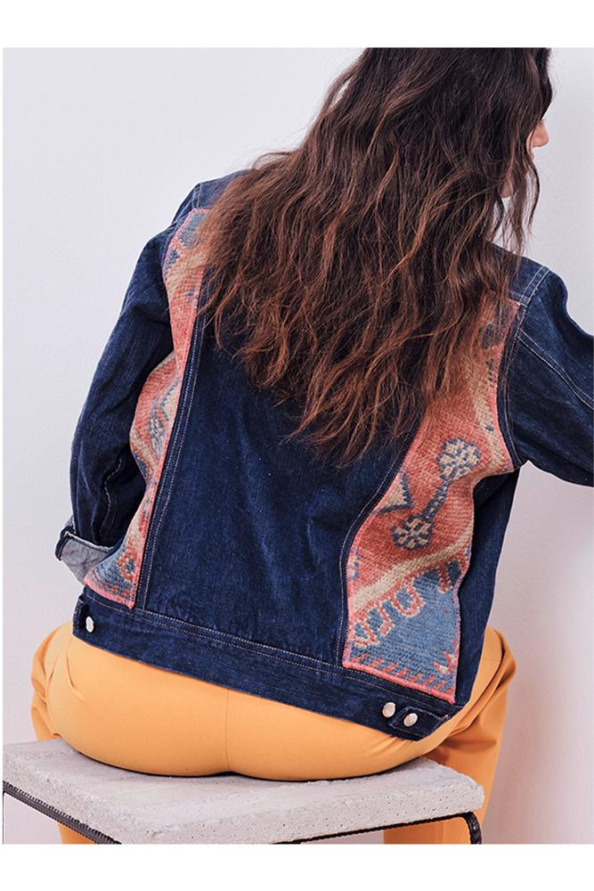 Jeans Jackets - #2 Upcycled Jeans Jacket - Marrakech Edition