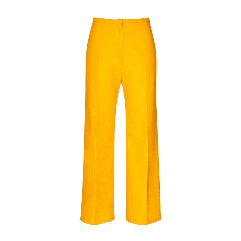 Trousers - Trousers Organic Cotton - Mustard