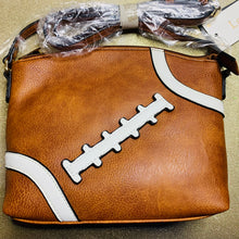 Load image into Gallery viewer, Crossbody Football purse