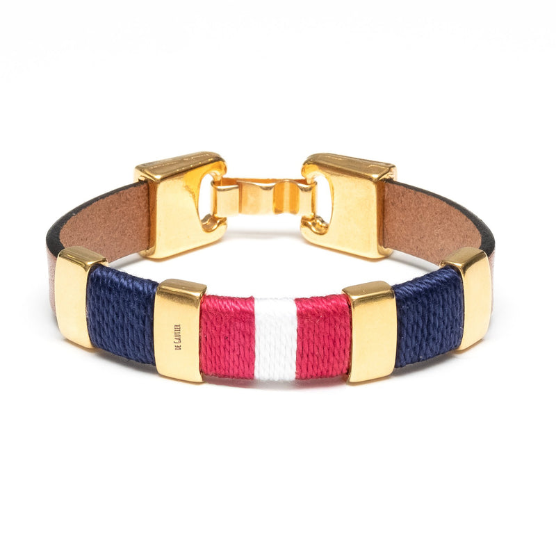 MONACO - BROWN/NAVY/RED/WHITE