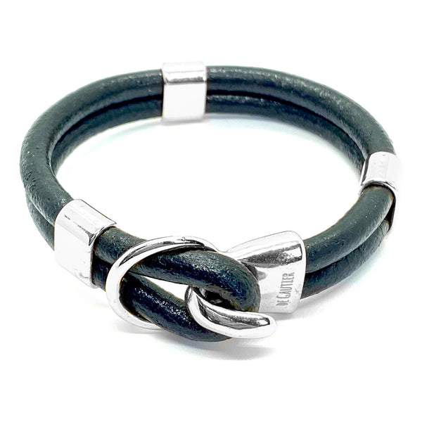 ANTIBES LEATHER SILVER
