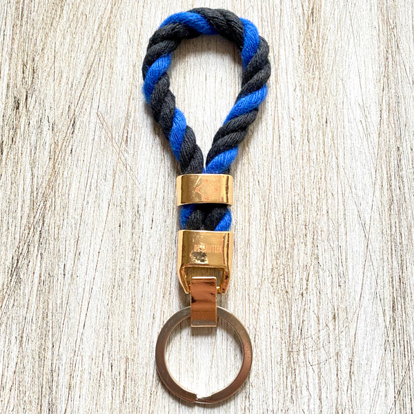KEYCHAIN ROPE - THIN BLUE LINE
