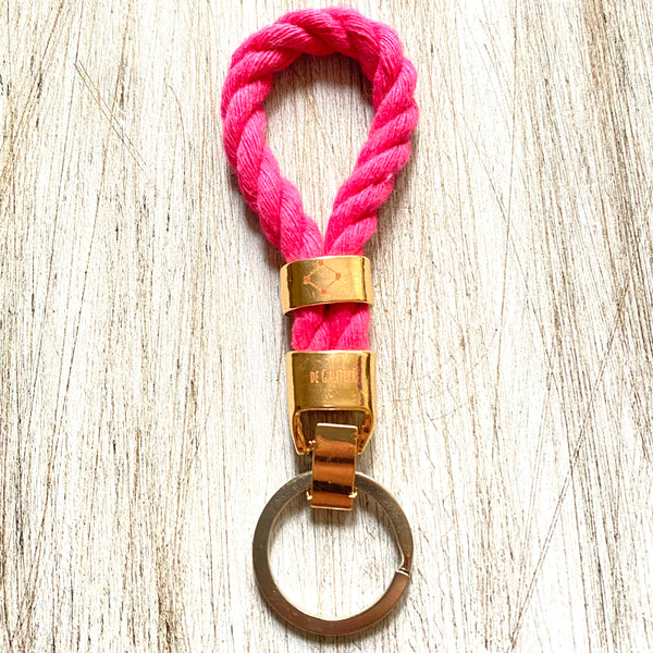 KEYCHAIN ROPE - HOT PINK